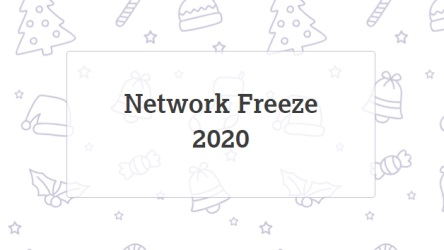 Network Freeze Schedule